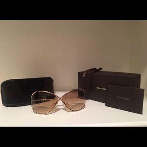 Tom Ford Miranda Sunglasses with Case and Box